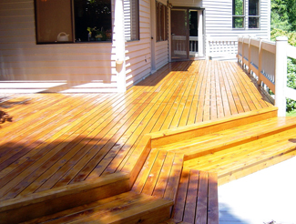 Deck after Restoration